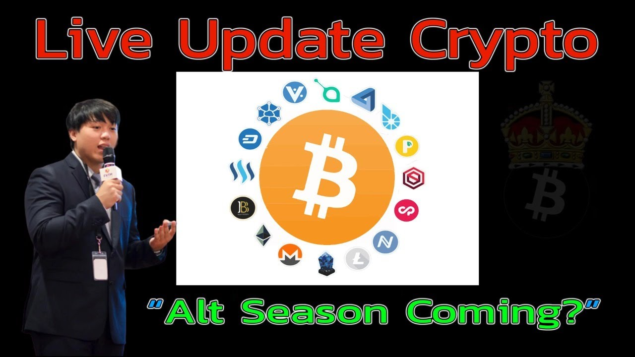 [Live Update Crypto] Alt Coins Season Coming?