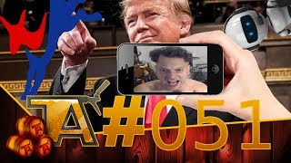TAP #51 | MORE DEMOCRATS RUN! - APPS RECORDING YOU? - TRUMP'S FUNDS!