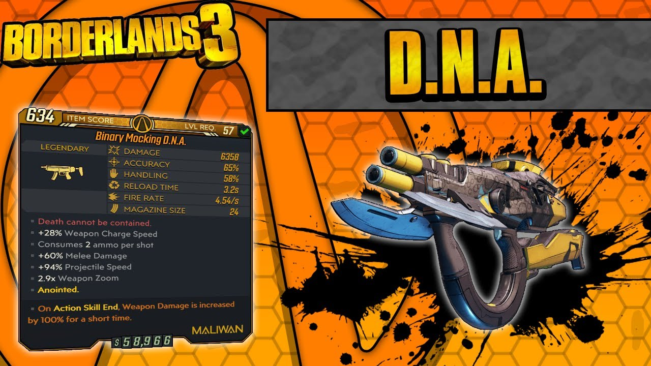 Borderlands 3 | D.N.A. Legendary Weapon Guide (Elemental Helix Bullets!) thumbnail