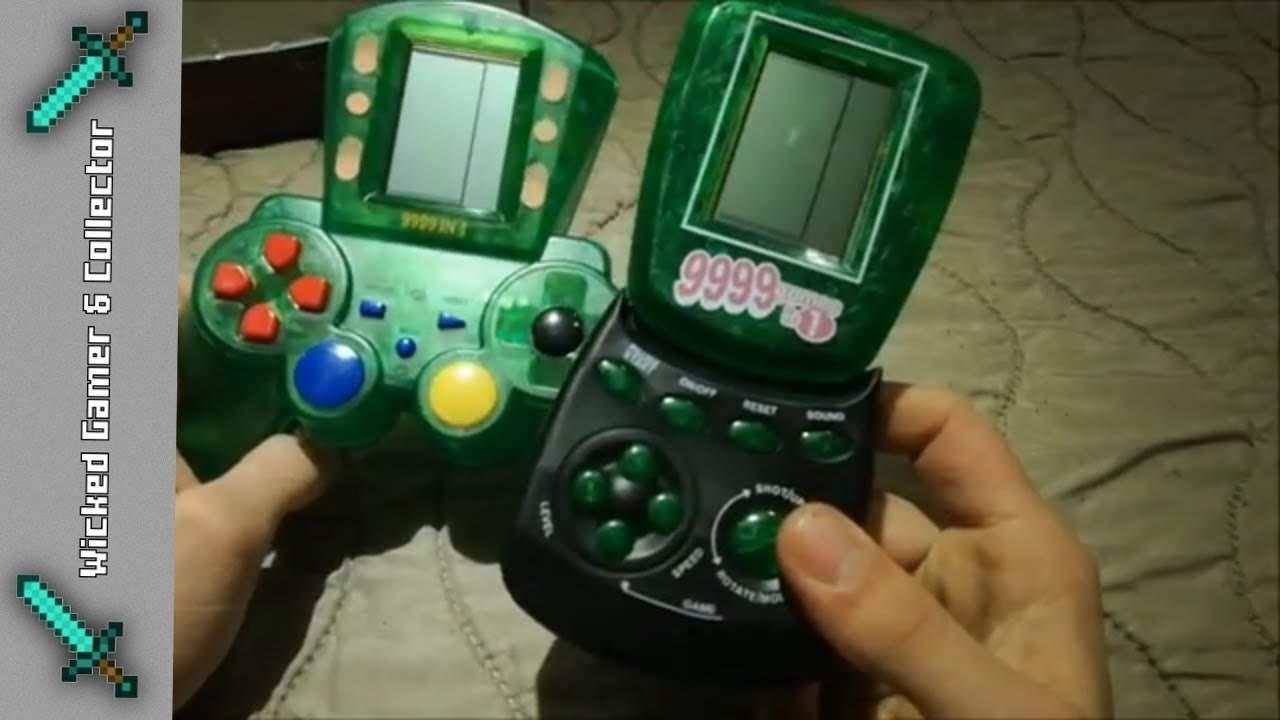 Review - Brick Game 9999 in 1 '90 Video Game Handheld / Systems / BrickGame  Collection