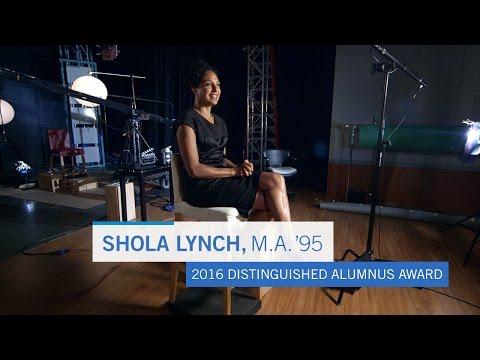 Shola Lynch, M.A. '95 – 2016 Distinguished Alumnus Award