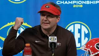 Kirby Smart Post Game Press Conference - 2018 SEC Championship Game