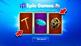 "VOICI THE FREE CADEAUX of the ""PÂQUES"" EVENT on Fortnite! (EXCLUSIVE)"