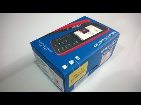 Nokia 208 Unboxing (Dual SIM)