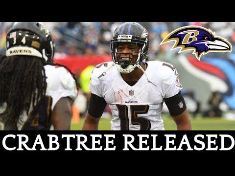 Ravens Release WR Michael Crabtree | Baltimore Ravens Roster News | Joe Noobo