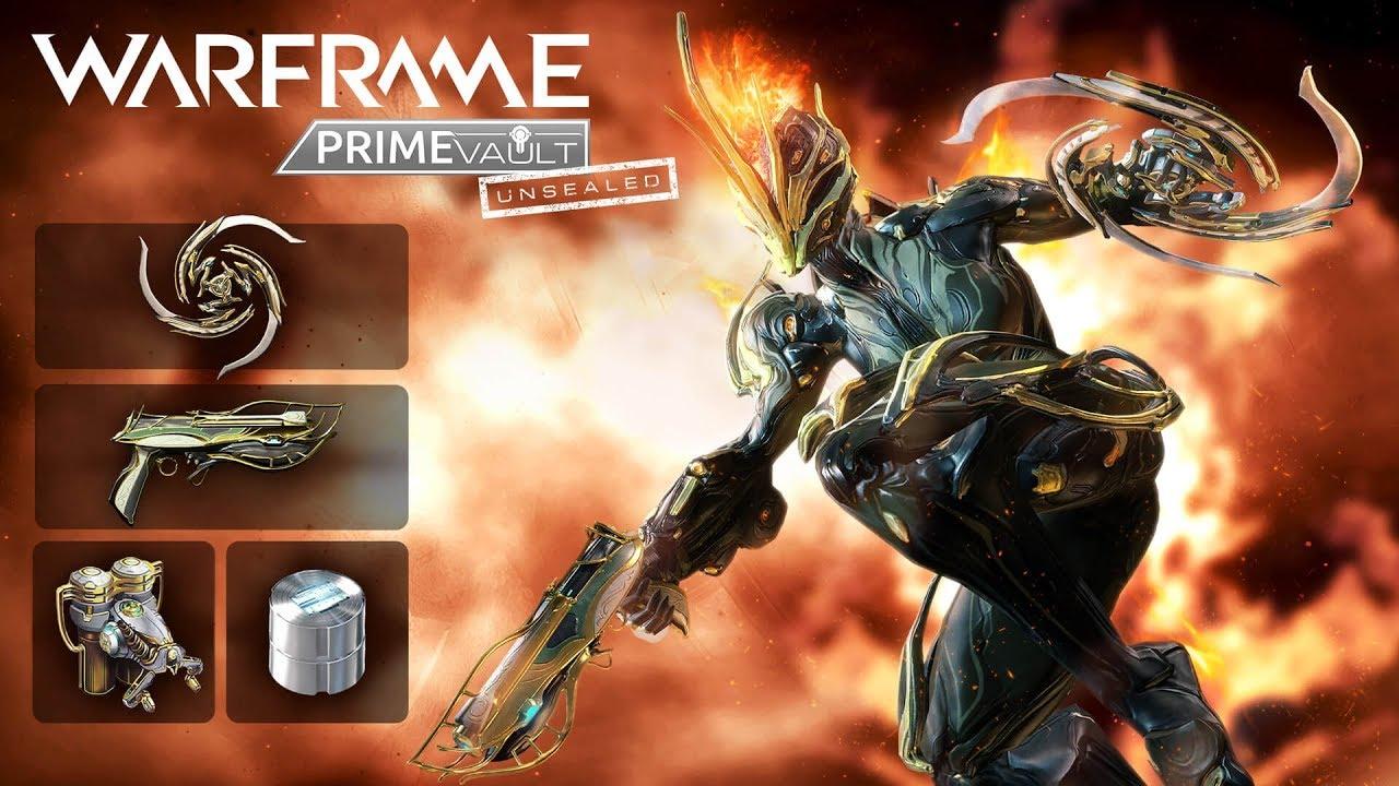 Warframe ember prime