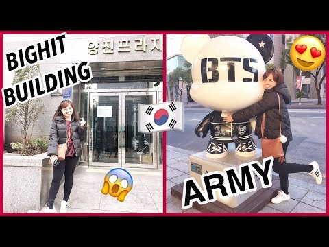 🇰🇷 VLOG S2 #2: BTS & BIGHIT BUILDING! + KPOP FANGIRLING in SEOUL! | Raych Ramos ✨