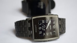 обзор Pebble Steel с Aliexpress