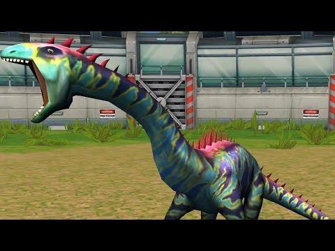 Jurassic Park Builder Battle - DNA Shunosaurus Super Moves [Final Evolution]