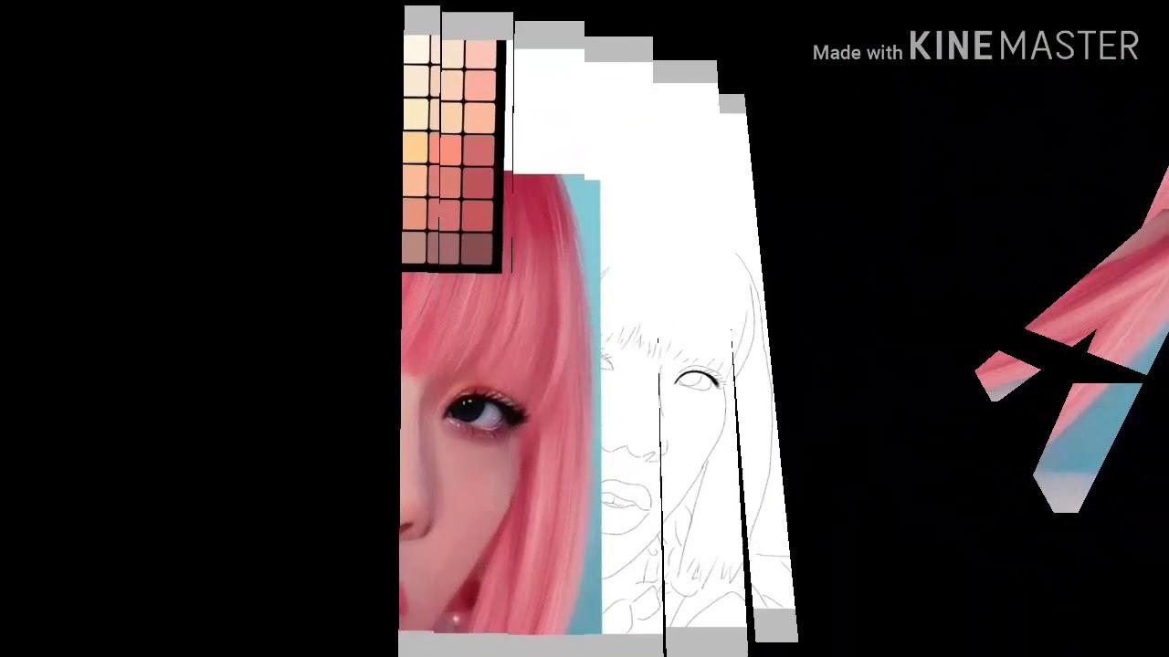 Mewarnai Jisoo Blackpink Menggunakan Smartphoneibispaint App Youtube