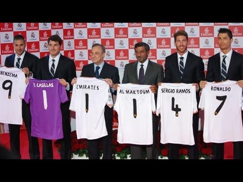Real Madrid agree new shirt deal with Emirates