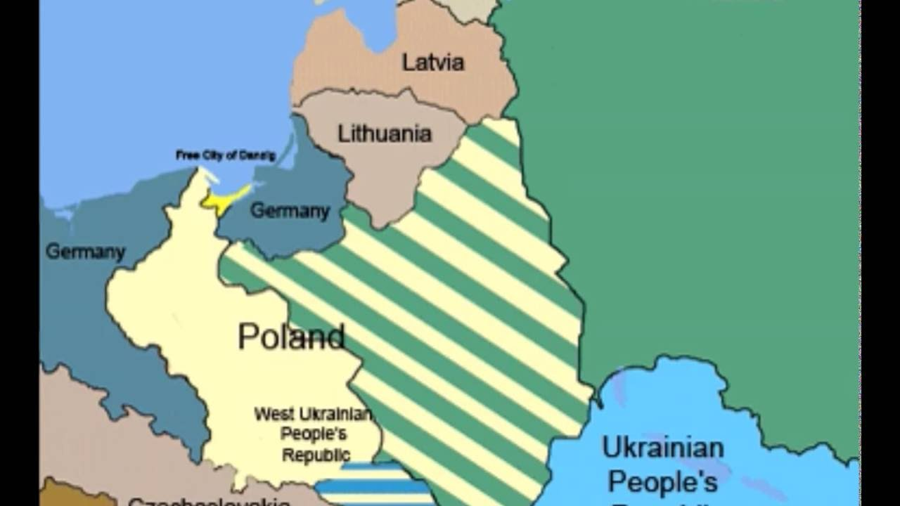 Poland S Border Territorial Changes 17th Century To 21st Century