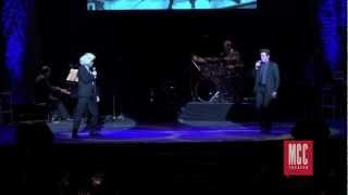 Jeremy Jordan and Jonathan Groff -
