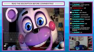 Livestream #46 - Ultimate Custom Night - Part 5 - 48/20 Mode Beaten!