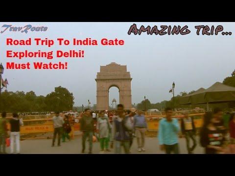 India Gate | RoadTrip | Delhi Roads | Epic Journey | HD