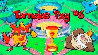 Torneio Pxg #6 (200+) Slaking X Magmortar!!