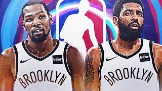 KEVIN DURANT AND KYRIE IRVING NETS REBUILD!!!