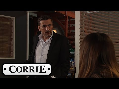 Coronation Street - Peter Doesn't Want Tyler's Mum Working at Underworld