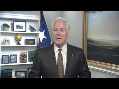 10/5/13 Sen. John Cornyn (R-TX) Delivers Weekly GOP Address On ...