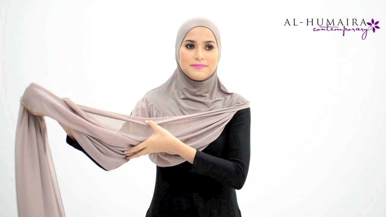 Arden shawl styling tutorial by al-humaira contemporary youtube.