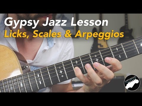 Essential Gypsy Jazz Guitar Lick Lesson + Lead Guitar Master