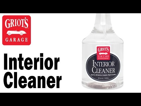 Griot's Garage - Interior Cleaner to clean mud off a VW Golf R's seats