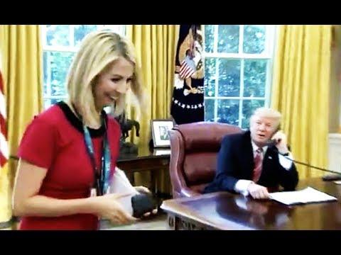 Trump Creeps On Irish Reporter (VIDEO)