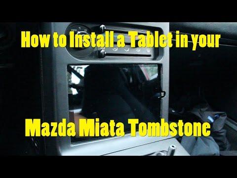 DIY Miata Tablet Install