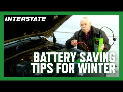 Winter weather battery tips from Interstate Batteries' Gale Kimbrough