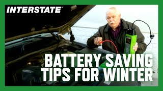 Winter weather battery tips from Interstate Batteries