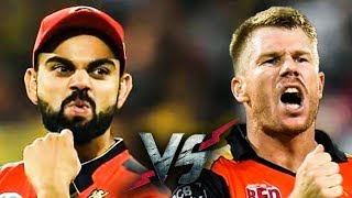 KOHLI or WARNER : Your DREAM 11 pick? | SRH vs RCB Match Preview & DREAM11 PREDICTION | IPL 2019