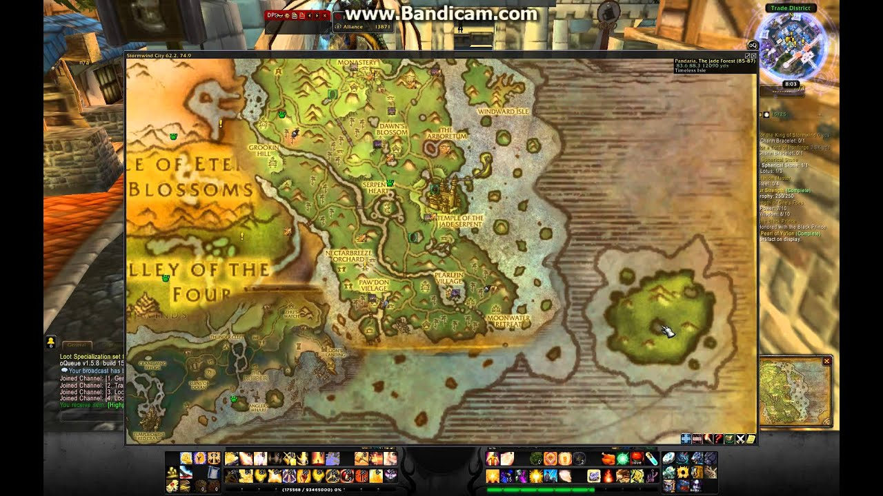 WoW Map addon