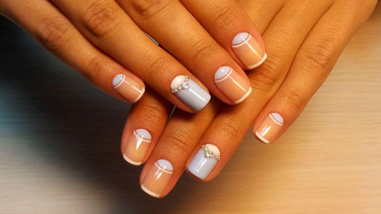 Картинки дизайн ногтей со стразами