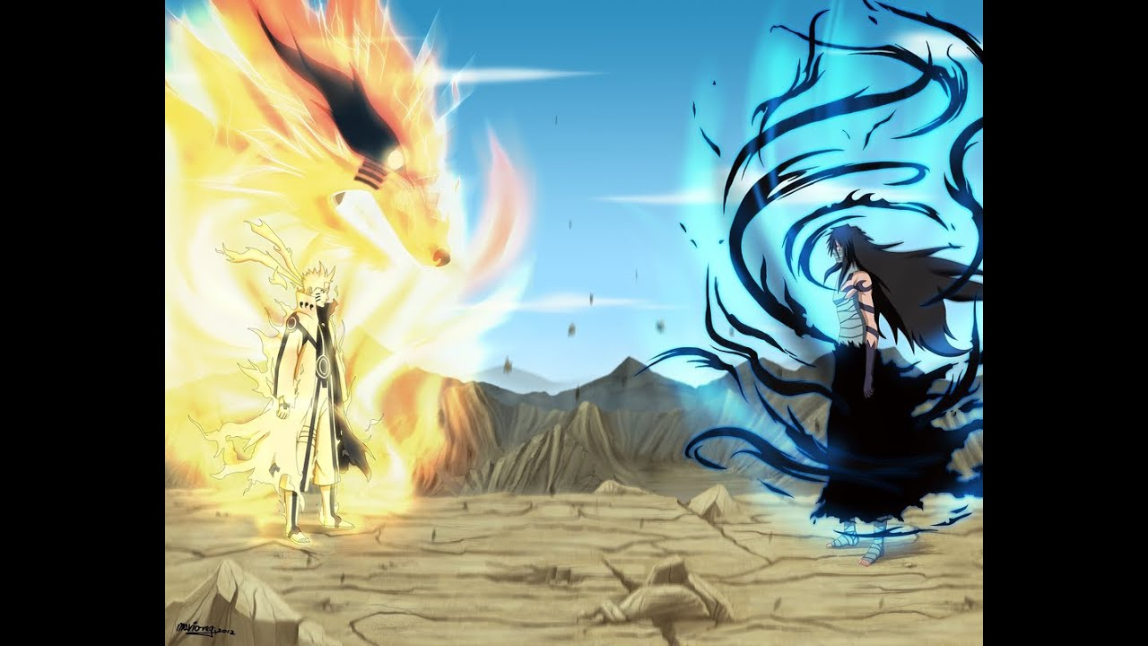 naruto uzumaki vs sasuke uchiha final battle amv the reckoning