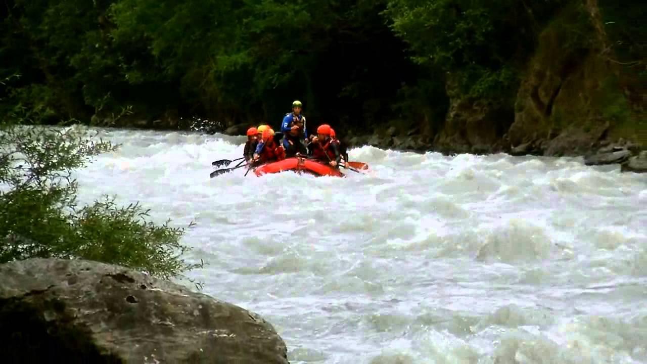 Rafting del 1 ago 2014 - YouTube