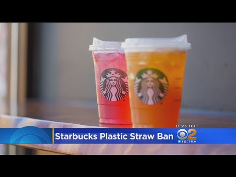 Starbucks To Ban Plastic Straws From All Stores