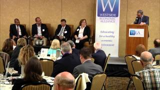 WEA Planning & training for a skilled workforce, breakfast forum.