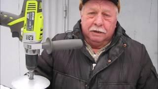 видео Шуруповерт для ледобура какой выбрать? Советы бывалых рыбаков