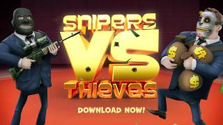Snipers vs Thieves Launch Trailer