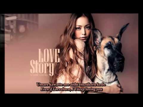 Namie Amuro - Love Story lyrics [ROM/ENG]