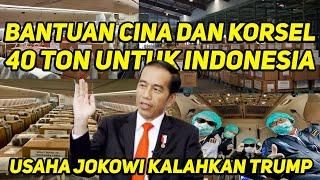 Mantap! Anjing Menggongong, Jokowi Berlalu.. Bantuan China & Korsel Ke Indonesia!