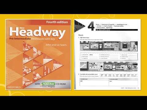 New Headway Pre-intermediate Exercise Book 4th -Unit :04