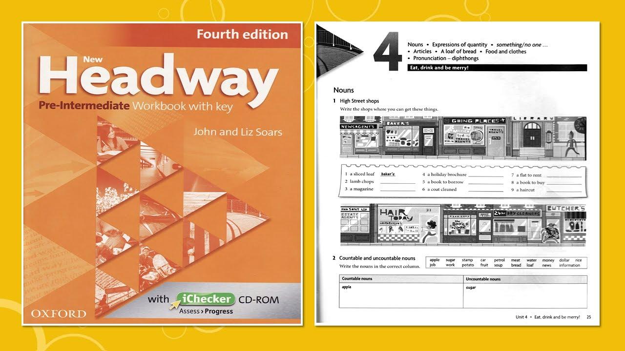 New Headway Pre-intermediate 3rd Решебник
