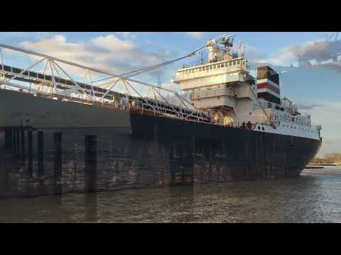 Algoma Compass departing Huron Ohio