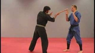 Stick Defense against Angles of Attack by Sensei Rick Tew and NinjaGym.com