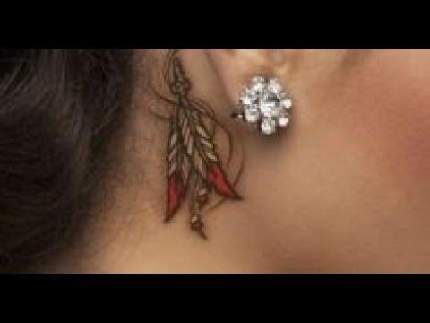 behind the ear tattoos  200+