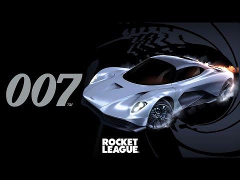 Rocket League James Bond Aston Martin Valhalla Trailer