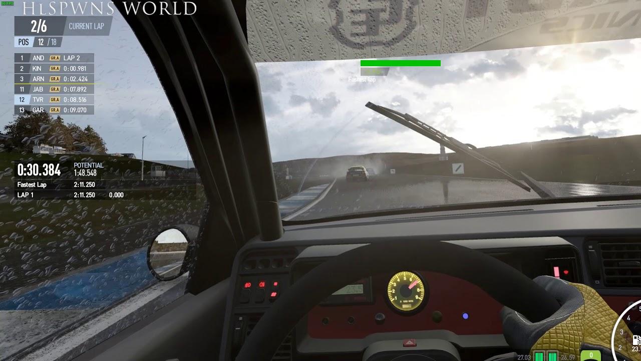 Project Cars 2 Oculus Rift Rtx 2080 Ti Optimal Vr Settings Youtube