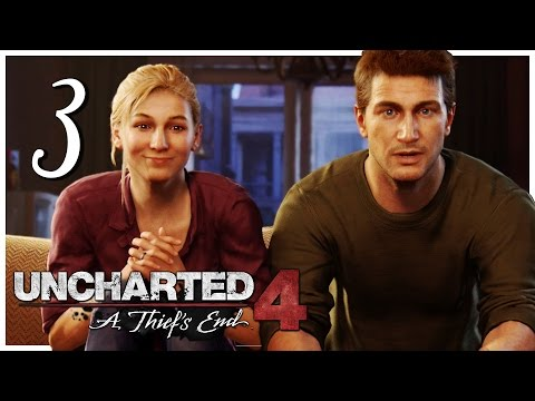 Let's Play Uncharted 4: A Thief's End [Blind] Part 3 - A Normal Life [Gameplay/Walkthrough]