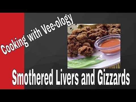 Southern Chicken Livers And Gizzards Recipe